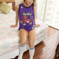 Latest Ladyboy Gold update features Yo getting ass fucked in pigtails and knee socks
