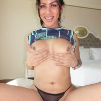 New from Ladyboygold is Lanta sucking a dick before bareback anal sex in POV mode